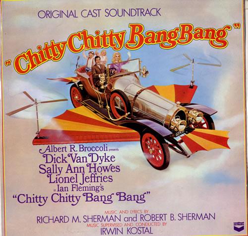 Original Soundtrack Chitty Chitty Bang Bang vinyl LP album (LP record) UK OSTLPCH552832