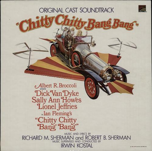 Bang Bang Chitty Chitty Windshield Sticker