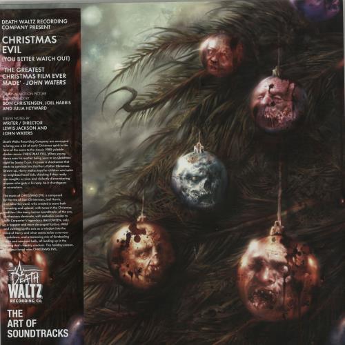 "Original Soundtrack Christmas Evil - Pink Sparkle Vinyl 10"" vinyl single (10"" record) UK OST10CH647984"