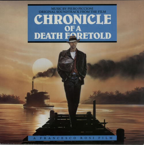 Original Soundtrack Chronicle Of Death Foretold vinyl LP album (LP record) UK OSTLPCH586697