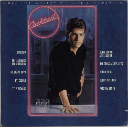 Original Soundtrack Cocktail vinyl LP album (LP record) US OSTLPCO751613
