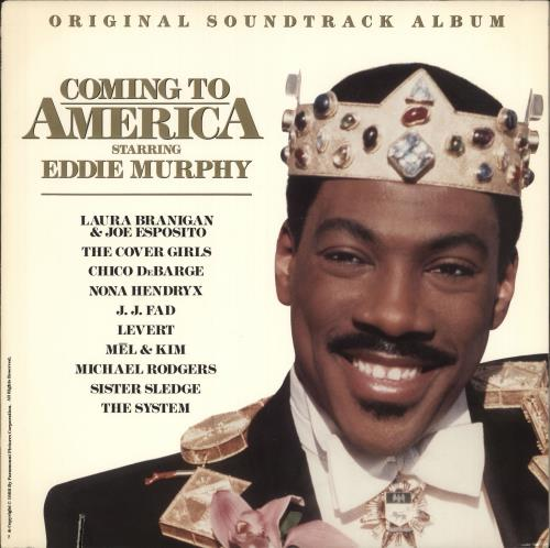 Original Soundtrack Coming To America vinyl LP album (LP record) US OSTLPCO586204