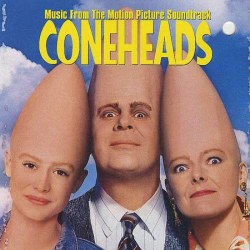 Original Soundtrack Coneheads: Music From The Motion Picture Soundtrack CD album (CDLP) US OSTCDCO20317
