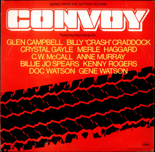 Original Soundtrack Convoy vinyl LP album (LP record) UK OSTLPCO522781