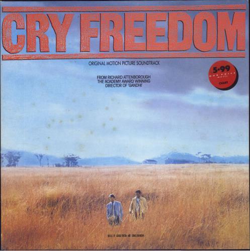 Original Soundtrack Cry Freedom vinyl LP album (LP record) UK OSTLPCR542772