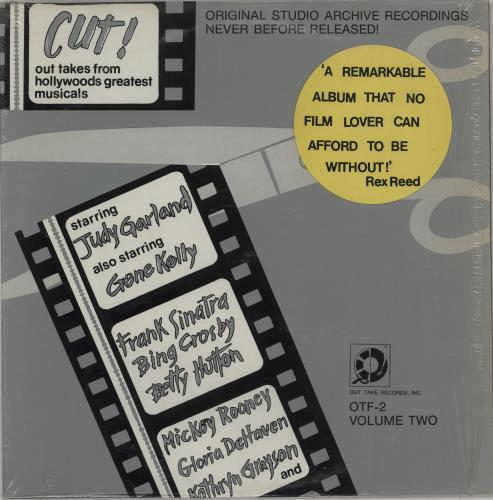 Original Soundtrack Cut! Out Takes From Hollywoods Greatest Musicals Vol. 2 vinyl LP album (LP record) US OSTLPCU763664