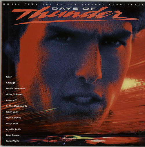Original Soundtrack Days Of Thunder vinyl LP album (LP record) UK OSTLPDA598899