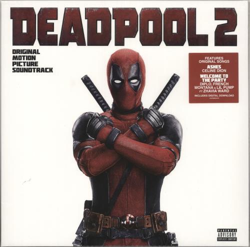 Original Soundtrack Deadpool 2 - Sealed vinyl LP album (LP record) UK OSTLPDE736143
