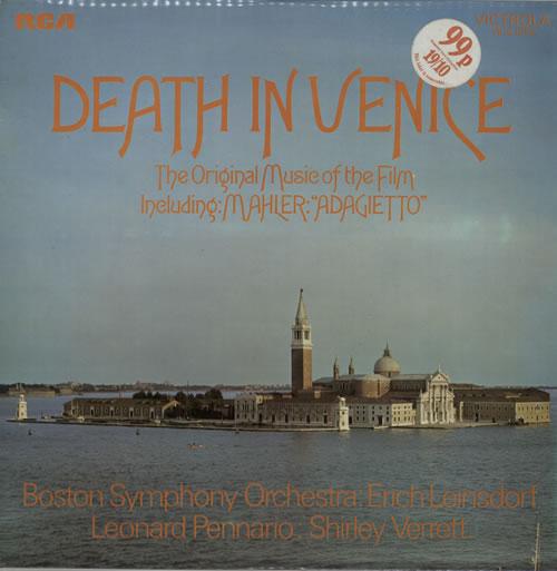 Original Soundtrack Death In Venice vinyl LP album (LP record) UK OSTLPDE569104