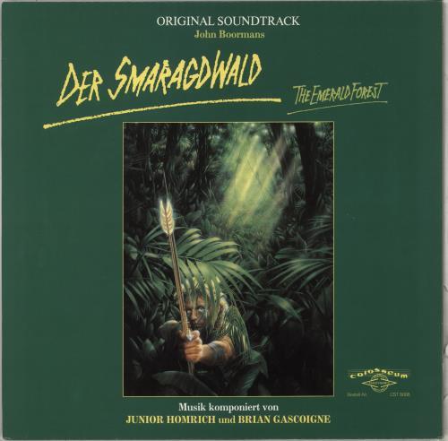 Original Soundtrack Der Smaragdwald (The Emerald Forest) vinyl LP album (LP record) German OSTLPDE712179