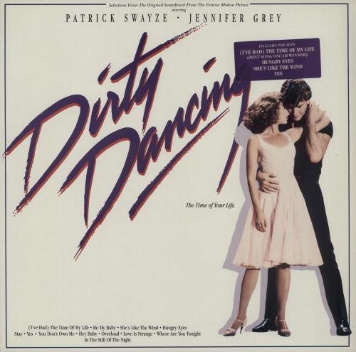 Original Soundtrack Dirty Dancing - Hype Stickered Sleeve vinyl LP album (LP record) German OSTLPDI670760