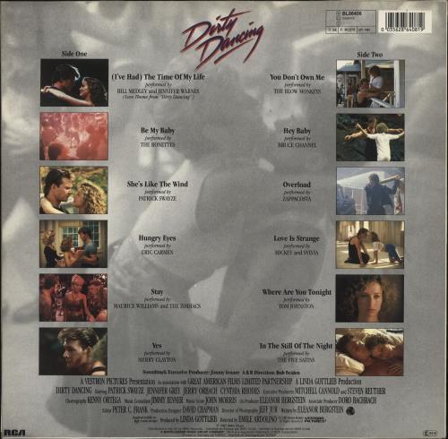 Original Soundtrack Dirty Dancing - Round Stickered Sleeve vinyl LP album (LP record) German OSTLPDI692025
