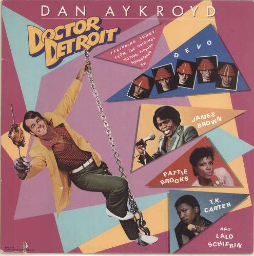 Original Soundtrack Doctor Detroit vinyl LP album (LP record) US OSTLPDO693130