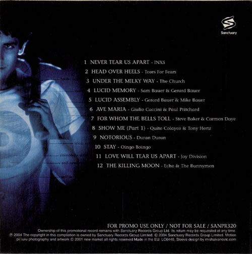 Original Soundtrack Donnie Darko Uk Promo Cd Album Cdlp