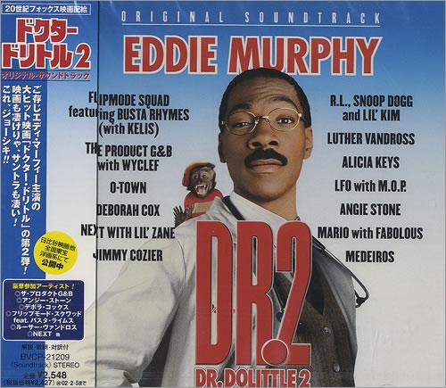 Original Soundtrack Dr. Dolittle 2 CD album (CDLP) Japanese OSTCDDR490869