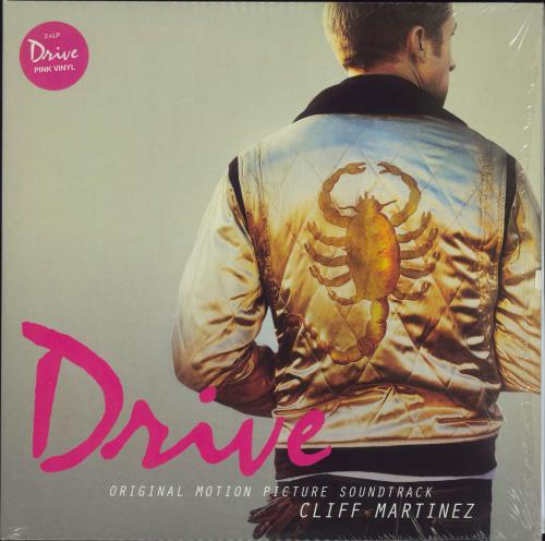 Original Soundtrack Drive - Neon Pink Vinyl 2-LP vinyl record set (Double Album) UK OST2LDR702553