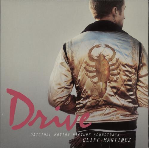 Original Soundtrack Drive - Pink vinyl 2-LP vinyl record set (Double Album) UK OST2LDR762176