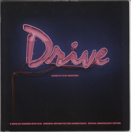Original Soundtrack Drive OST - Neon Pink Vinyl 2-LP vinyl record set (Double Album) UK OST2LDR733296