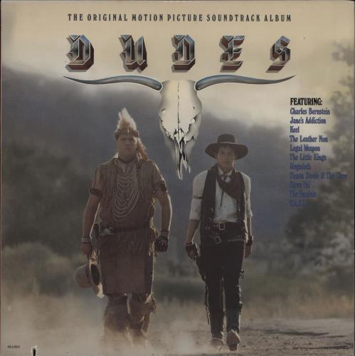 Original Soundtrack Dudes vinyl LP album (LP record) US OSTLPDU751616