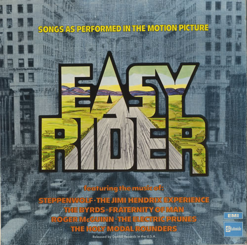 Original Soundtrack Easy Rider - 1st vinyl LP album (LP record) UK OSTLPEA278523