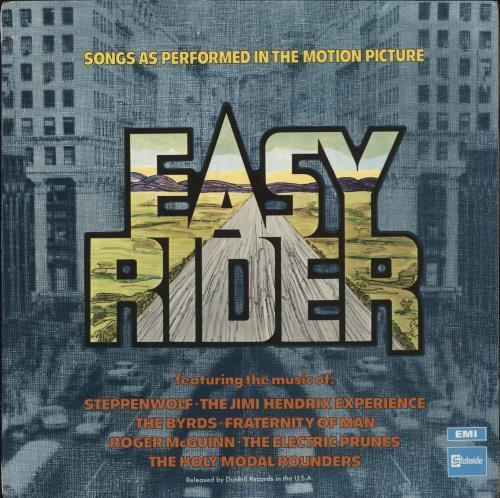 Original Soundtrack Easy Rider - 2nd vinyl LP album (LP record) UK OSTLPEA470160