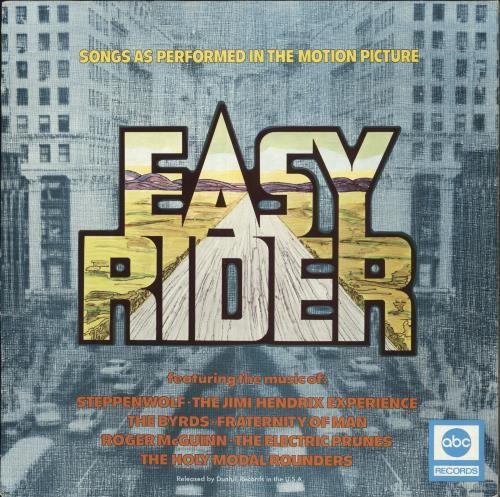 Original Soundtrack Easy Rider vinyl LP album (LP record) UK OSTLPEA413007