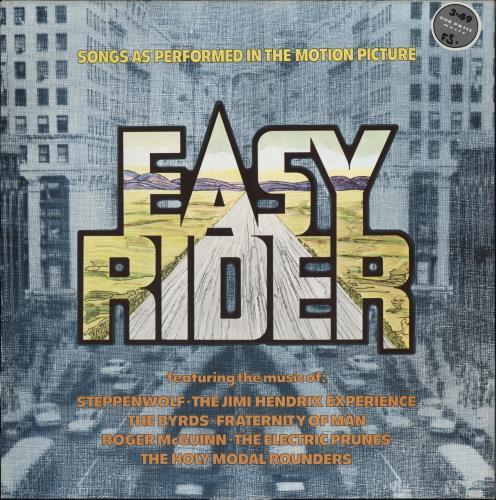 Original Soundtrack Easy Rider vinyl LP album (LP record) UK OSTLPEA619262