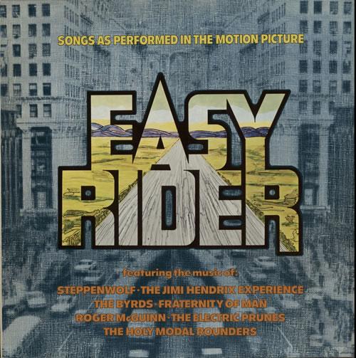 Original Soundtrack Easy Rider vinyl LP album (LP record) Dutch OSTLPEA627103