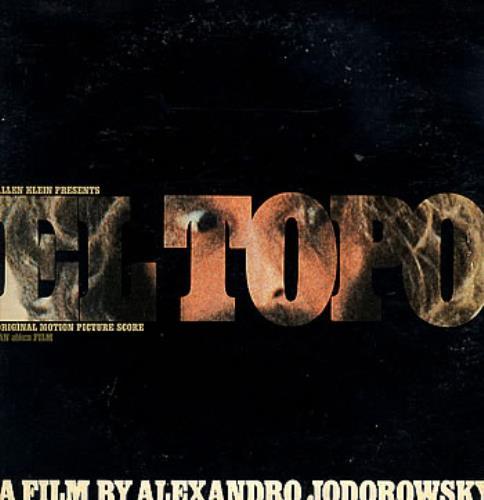 Original Soundtrack El Topo + booklet vinyl LP album (LP record) US OSTLPEL302167