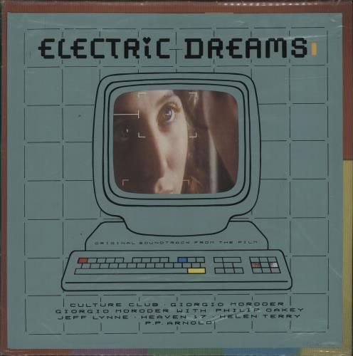 Original Soundtrack Electric Dreams + PVC Outer - EX vinyl LP album (LP record) UK OSTLPEL678971