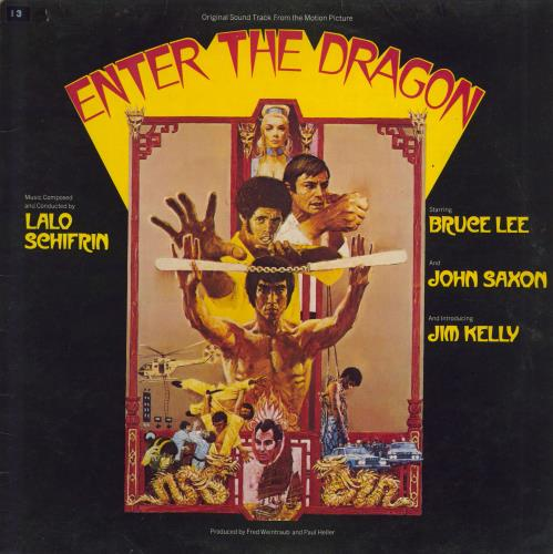 Original Soundtrack Enter The Dragon - EX vinyl LP album (LP record) UK OSTLPEN711922