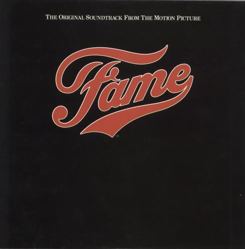 Original Soundtrack Fame vinyl LP album (LP record) UK OSTLPFA730946