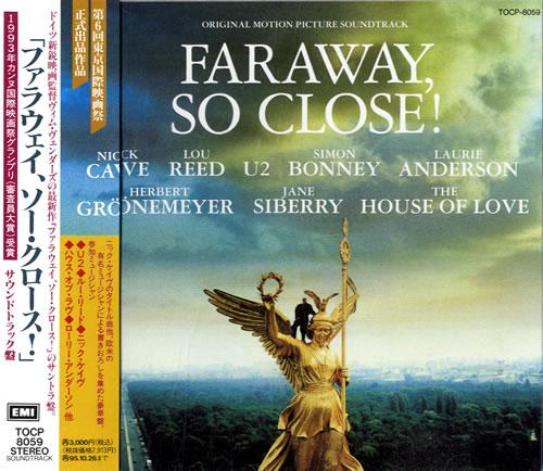Original Soundtrack Faraway So Close Japanese Cd Album
