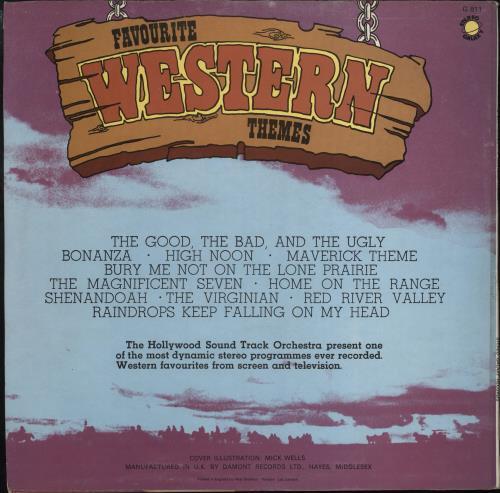 Original Soundtrack Favourite Western Themes vinyl LP album (LP record) UK OSTLPFA766475