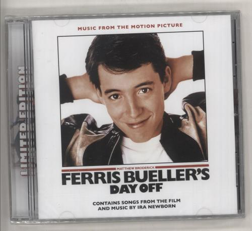 Original Soundtrack Ferris Bueller's Day Off - Sealed CD album (CDLP) US OSTCDFE734855