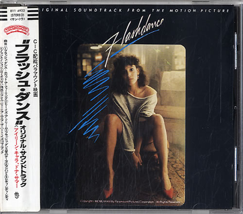 Original Soundtrack Flashdance CD album (CDLP) Japanese OSTCDFL629880