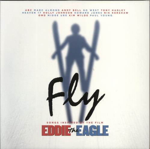 Original Soundtrack Fly - Songs Inspired By The Film Eddie The Eagle - White Vinyl 2-LP vinyl record set (Double Album) UK OST2LFL772390