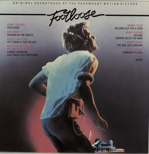 Original Soundtrack Footloose vinyl LP album (LP record) UK OSTLPFO632878