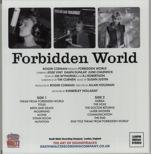 Original Soundtrack Forbidden World - Black Hole Vinyl vinyl LP album (LP record) UK OSTLPFO647956