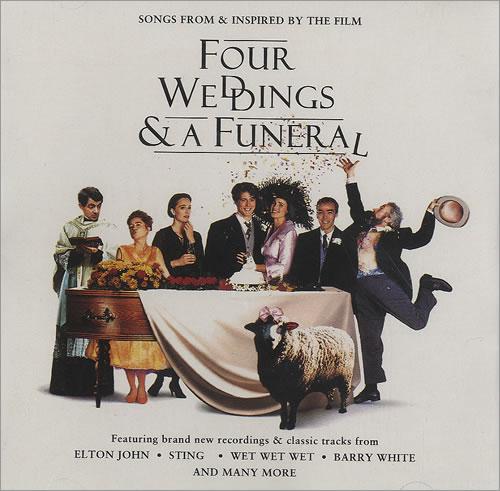 Original Soundtrack Four Weddings A Funeral CD Album CDLP German OSTCDFO498060