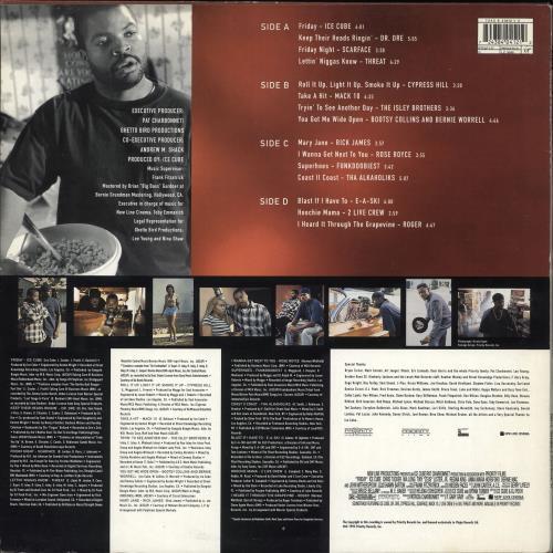 Original Soundtrack Friday 2-LP vinyl record set (Double Album) UK OST2LFR709672