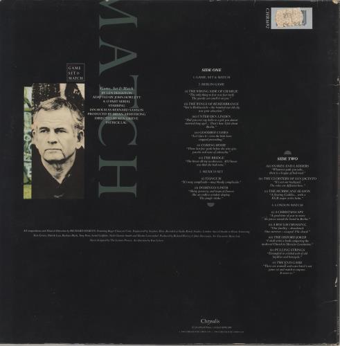 Original Soundtrack Game, Set & Match vinyl LP album (LP record) UK OSTLPGA562173