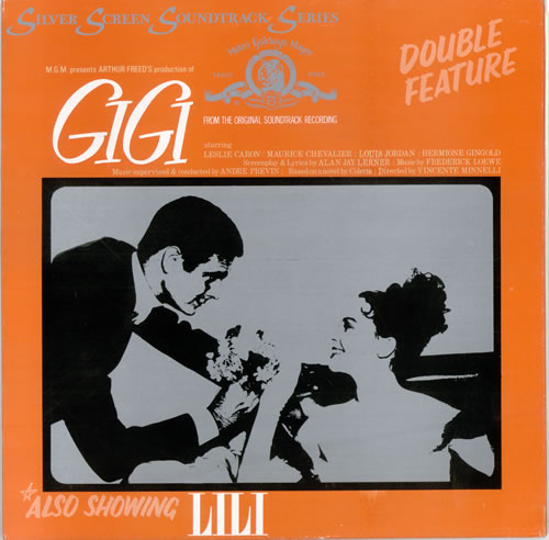 Original Soundtrack Gigi / Lili vinyl LP album (LP record) UK OSTLPGI478837