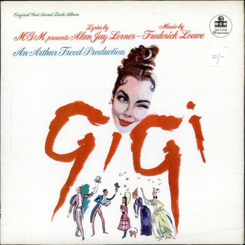 Original Soundtrack Gigi vinyl LP album (LP record) UK OSTLPGI504706