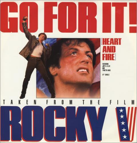 "Original Soundtrack Go For It! (Heart And Fire) 12"" vinyl single (12 inch record / Maxi-single) UK OST12GO400066"