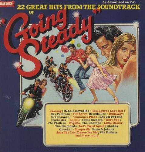 Original Soundtrack Going Steady vinyl LP album (LP record) UK OSTLPGO419513