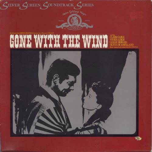 Original Soundtrack Gone With The Wind vinyl LP album (LP record) UK OSTLPGO457157