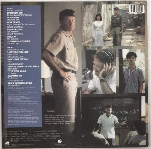 Original Soundtrack Good Morning Vietnam - EX vinyl LP album (LP record) UK OSTLPGO734824