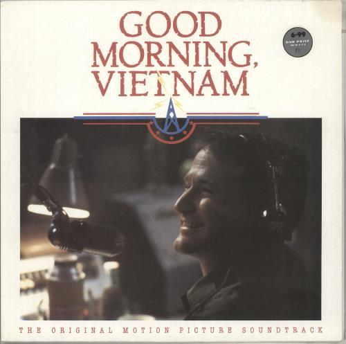 Original Soundtrack Good Morning Vietnam vinyl LP album (LP record) UK OSTLPGO391937