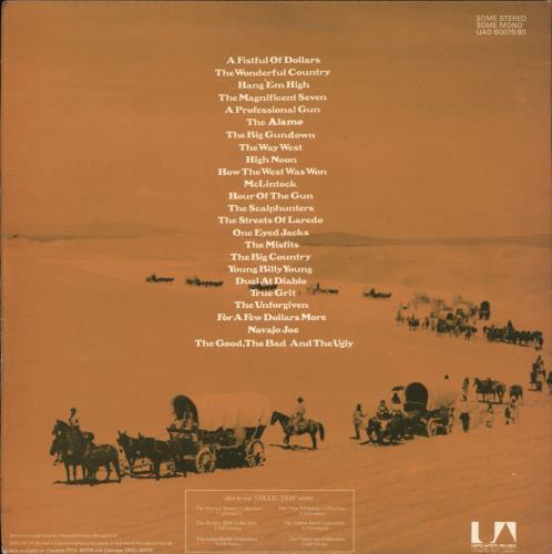 Original Soundtrack Great Western Film Themes Collection 2-LP vinyl record set (Double Album) UK OST2LGR721013